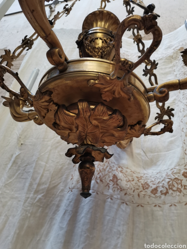 Antigüedades: Lampara Francesa del xix - Foto 3 - 223057881