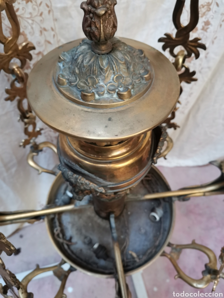 Antigüedades: Lampara Francesa del xix - Foto 4 - 223057881