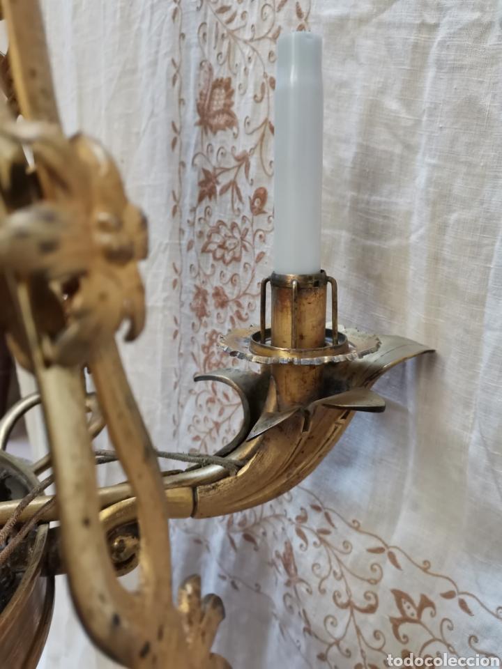 Antigüedades: Lampara Francesa del xix - Foto 9 - 223057881