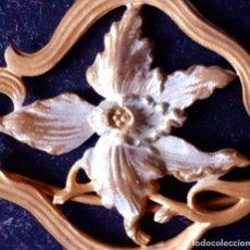 Antigüedades: PRECIOSA ANTIGUA HEBILLA MODERNISTA ART NOUVEAU~ ANTIQUE ART NOUVEAU MODERNIST BUCKLE. Lote 23696911