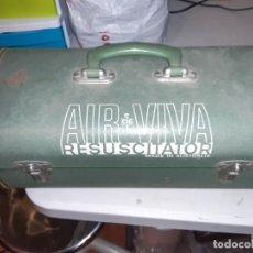 Antigüedades: ANTIGUO RESUCITADOR/INSUFLADOR MÉDICO ORIGINAL. Lote 223140877