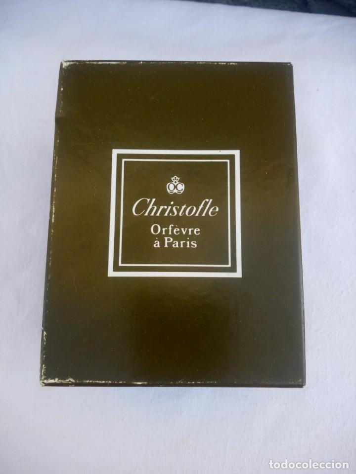 Antigüedades: Precioso vaso de Christofle france,con caja original y saco. - Foto 2 - 223160538