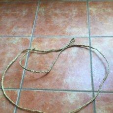 Antiquités: ANTIGUA HONDA DE ESPARTO. Lote 223192838