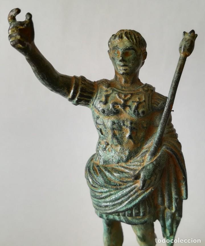 AUGUSTO DE PRIMA PORTA (Antigüedades - Hogar y Decoración - Figuras Antiguas)