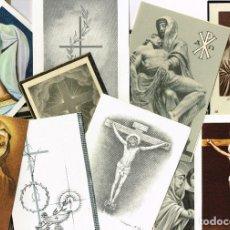 Antigüedades: 1956 1990 ESPLENDIDO LOTE DE 50 RECORDATORIOS BASICAMENTE ALMADÉN Y BARCELONA. Lote 223211697