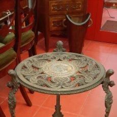Antigüedades: MESA DE HIERRO. Lote 223216407