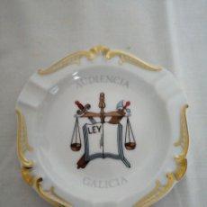 Antigüedades: CENICERO PORCELANA SANTA CLARA.. Lote 223243616