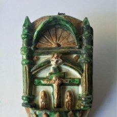"Antigüedades: MAGNÍFICA BENDITERA ""MUEL"". Lote 223256295"