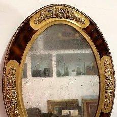 Antigüedades: MARCO CON ESPEJO MODERNISTA.. Lote 223260462