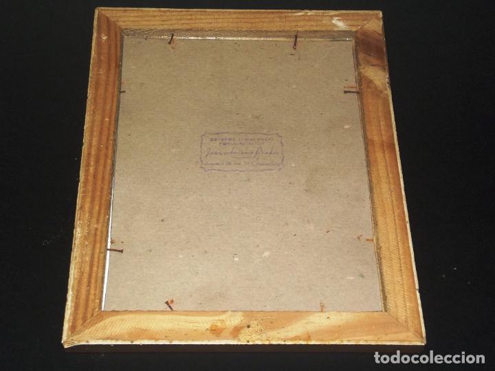 Antigüedades: LÁMINA ENMARCADA DE JUAN XXIII - 1959 - 26 X 20 CMS. - Foto 2 - 223266412