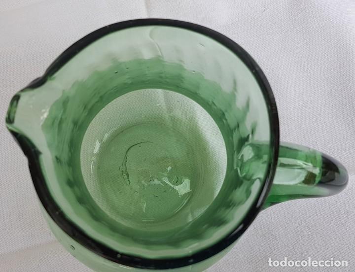 Antigüedades: Jarra vidrio soplado mallorquín. Años 60 (ver detalles fotos) - Foto 6 - 223282606