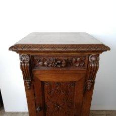Antigüedades: MESILLA AUXILIAR RESTAURADA. Lote 223305090