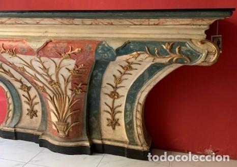 Antigüedades: Consola de madera siglo XVIII - Foto 2 - 223324857