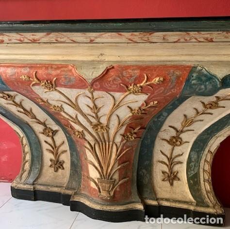 Antigüedades: Consola de madera siglo XVIII - Foto 4 - 223324857