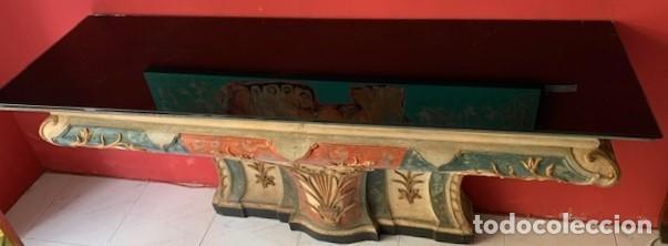Antigüedades: Consola de madera siglo XVIII - Foto 7 - 223324857
