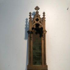 Antigüedades: CAPILLA DE PARED PARA IMAGEN RELIGIOSA DE TALLA MADERA ANTIGUA... Lote 223347437