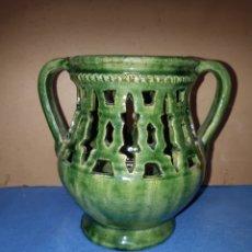 Antigüedades: JARRÓN DE CERÁMICA DE TITO DE UBEDA MIDE 13 CENTÍMETROS DE ALTA. Lote 253271010