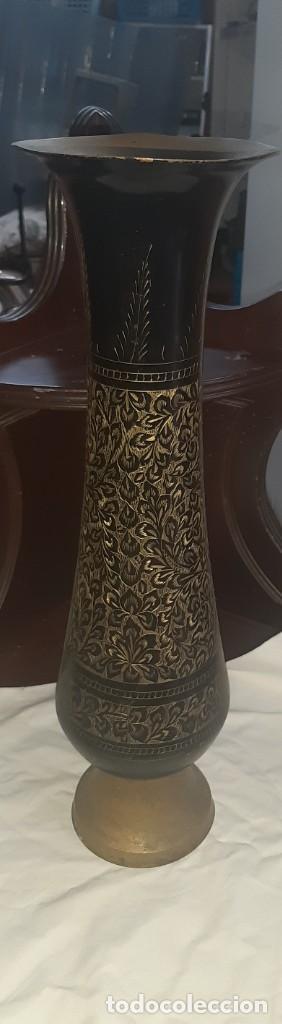 Antigüedades: jarron laton - Foto 3 - 223407638