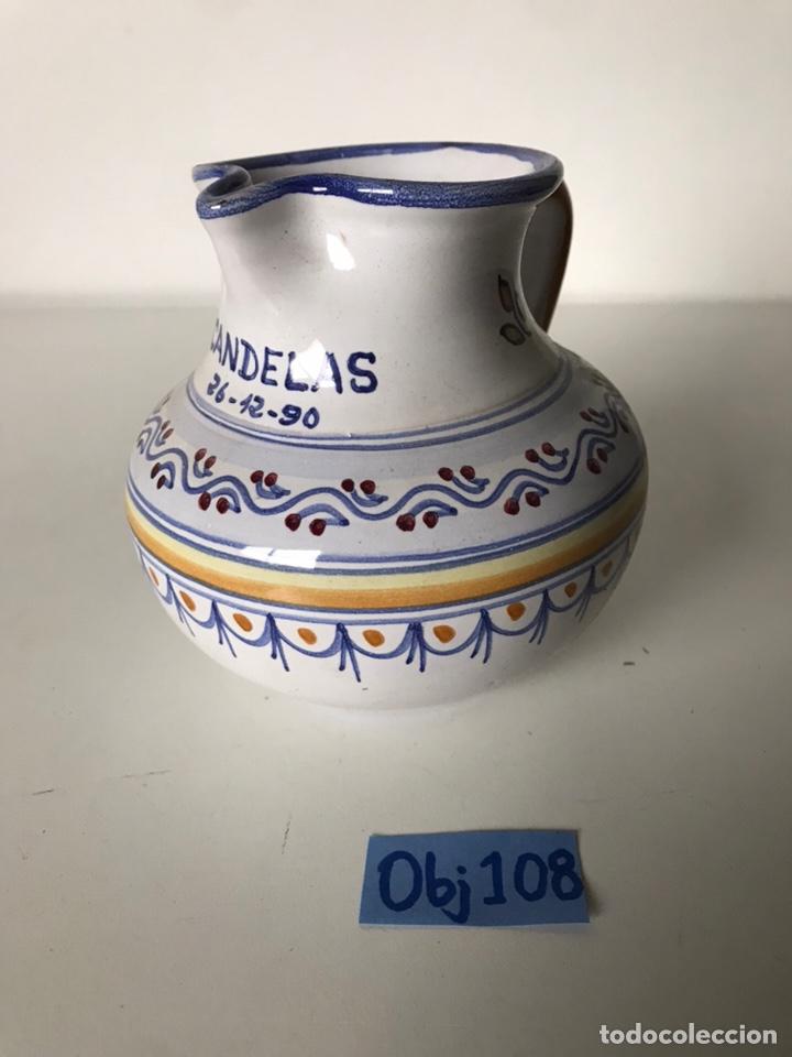PEQUEÑA JARRA TALAVERA (Antigüedades - Porcelanas y Cerámicas - Talavera)