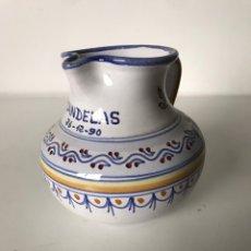 Antigüedades: PEQUEÑA JARRA TALAVERA. Lote 223408751