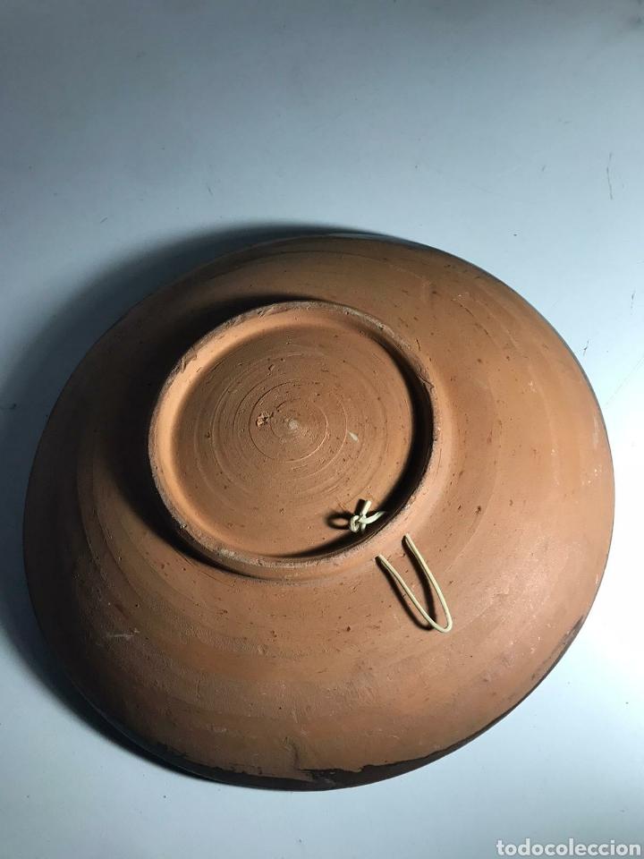 Antigüedades: Plato decorativo de girasoles - Foto 2 - 223410580