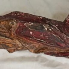 Antigüedades: TALLA VIRGEN ANTIGUA MADERA. Lote 223412412