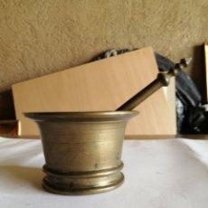 Antigüedades: MORTERO EN BRONCE. Lote 223455935