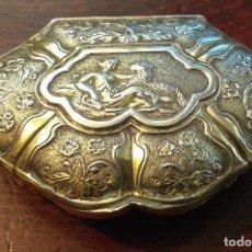 Antigüedades: CAJA DE PLATA PARÍS 1735 - 40 ESTILO LUIS XV. Lote 223460265
