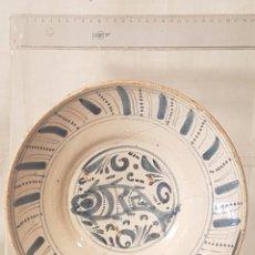 Antiquités: PLATO TERUEL PEZ S XVIII. Lote 223465071
