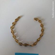 Antigüedades: PULSERA CHAPADA EN ORO CALABROTE. Lote 223468460