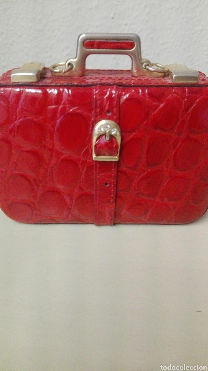 Antigüedades: Coleccion de 4 bolsos italianos en piel sello de garantia en el interior, miniatura. - Foto 3 - 223478827