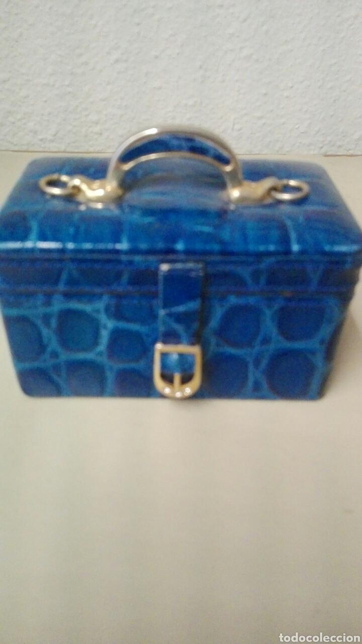 Antigüedades: Coleccion de 4 bolsos italianos en piel sello de garantia en el interior, miniatura. - Foto 4 - 223478827