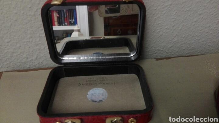 Antigüedades: Coleccion de 4 bolsos italianos en piel sello de garantia en el interior, miniatura. - Foto 8 - 223478827