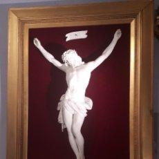 Antigüedades: CRISTO DE PORCELANA. SIGLO XIX. Lote 223488236