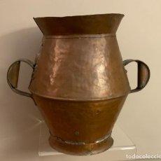 Antiguidades: GRAN MEDIDA VINO COBRE (S.XIX). Lote 223503440