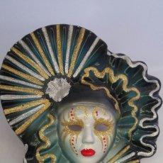 Antigüedades: MASCARA VENECIANA PARED. Lote 223530880
