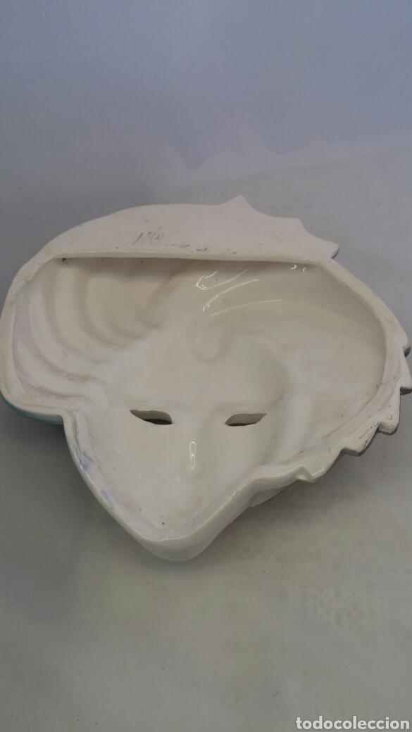 Antigüedades: Mascara veneciana pared - Foto 7 - 223531222