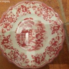 Antigüedades: PEQUENO PLATA PLATO IRONSTONE. Lote 223533940