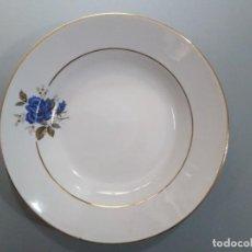 Antigüedades: PLATO HONDO 23 CM - SAN CLAUDIO. Lote 223561741