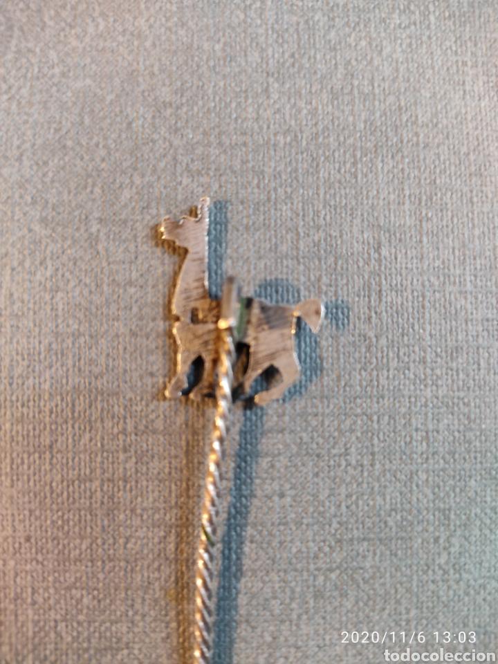 Antigüedades: Pinchos de plata para aperitivos con figuras de llama( Peru) - Foto 2 - 223580807