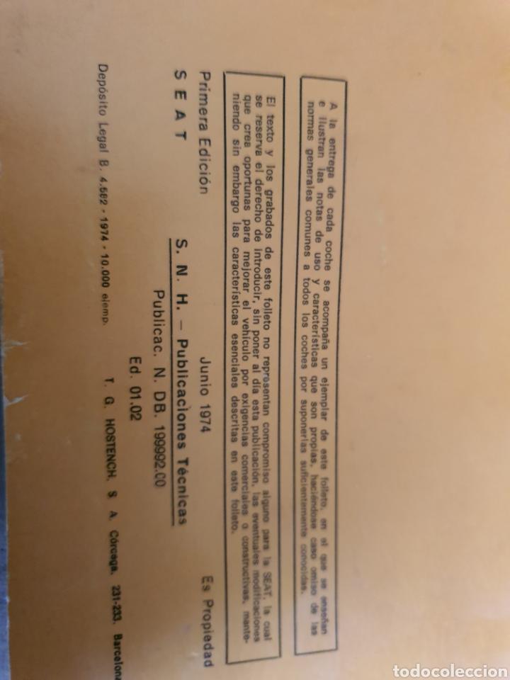 Antigüedades: Manual Seat 133 - Foto 3 - 223582410