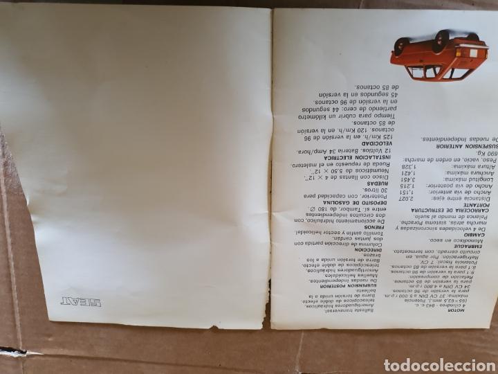 Antigüedades: Catalogo SEAT 133 - Foto 5 - 223582972