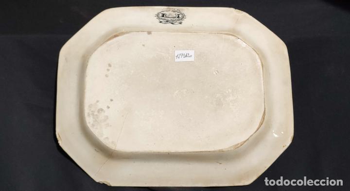 Antigüedades: BONITA BANDEJA DE CARTAGENA , FABRICA LA AMISTAD - Foto 3 - 223587533