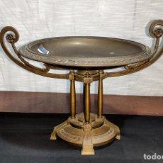 Antigüedades: INTERESANTE CENTRO DE BRONCE ESTILO IMPERIO, C.1900. Lote 223588751