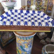 Antigüedades: ANTIGUO TEJADO CERAMICA DE TRIANA. Lote 223591583