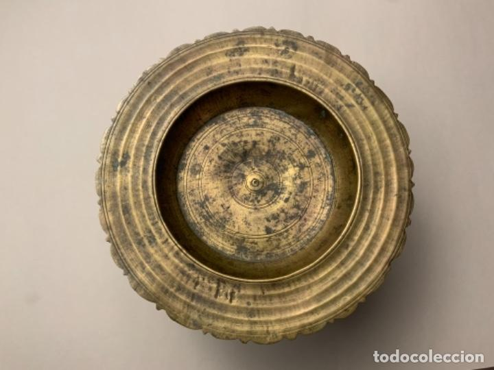 Antigüedades: INCENSARIO TIBETANO (s.XIX) - Foto 3 - 223620342