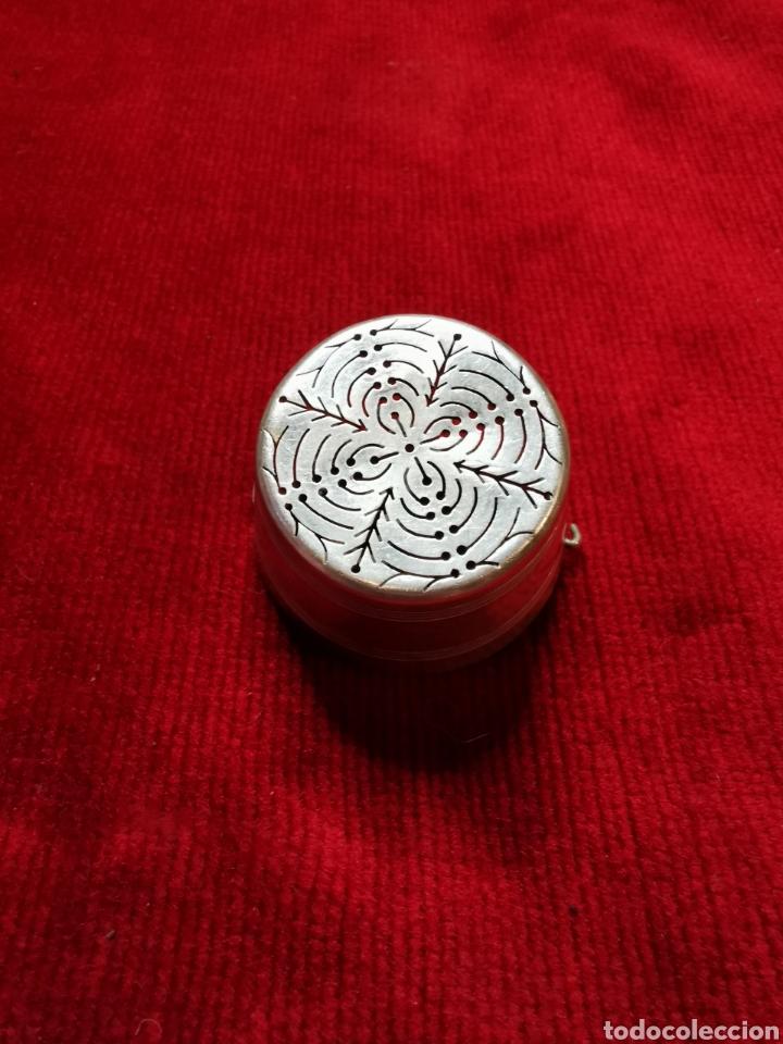 Antigüedades: filtro de té en plata - Foto 3 - 223640538