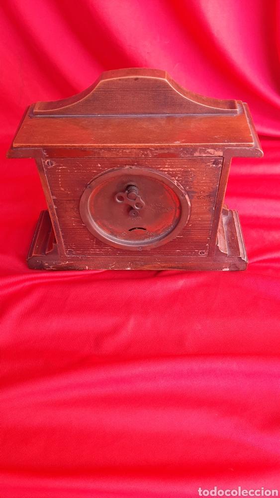 Antigüedades: antiguo reloj de madera - Foto 2 - 223641370