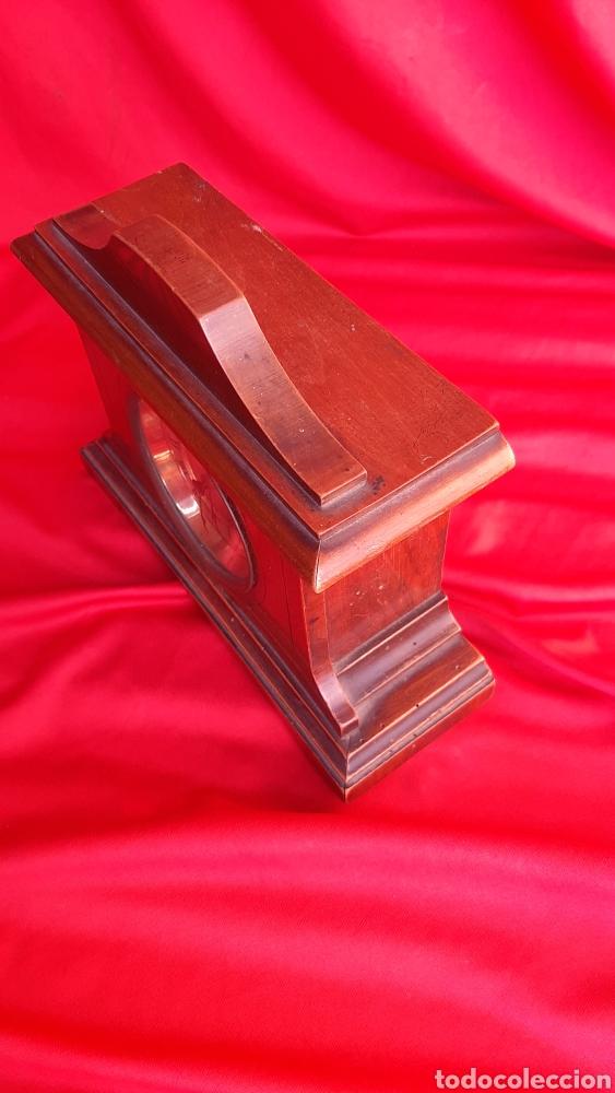 Antigüedades: antiguo reloj de madera - Foto 3 - 223641370