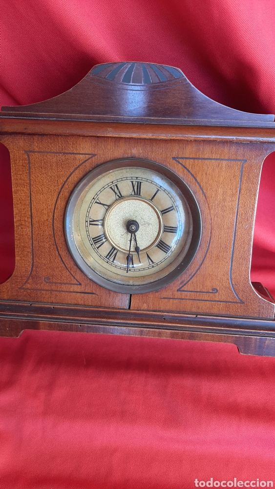 Antigüedades: antiguo reloj de madera - Foto 4 - 223641370